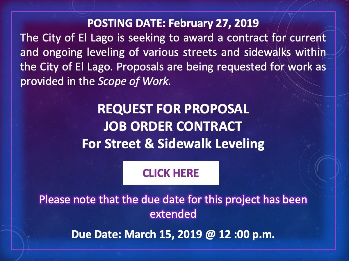 Job Order Contract Leveling button